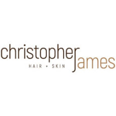 Christopher James Hair+Skin - Logo